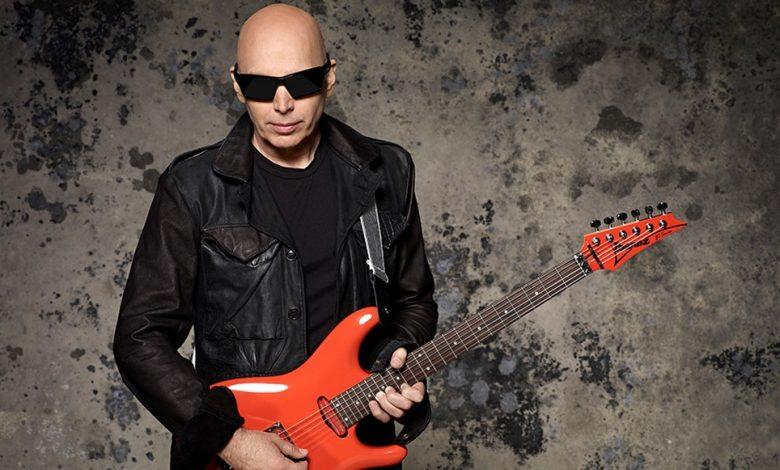 Photo of Joe Satriani Unleashed Ibanez JS2450 Muscle Black Car