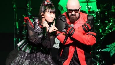 Photo of Babymetal Performed With Judas Priest's Rob Halford
