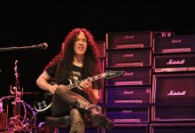 Photo of Marty Friedman Introduced Band Members on Music Video for 'Self Pollution'